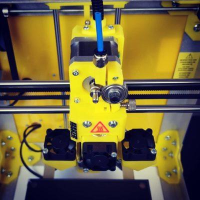 SmartCub3D MK3 MAKER JAUNE