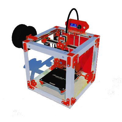 SmartCub3D MK3 MAKER ROUGE